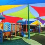 Multi-Coloured-Commercial-Early-Learning-shade-sails