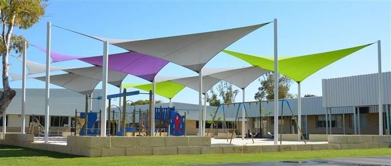 Playground Park Shade Sails Nursury And Play Area