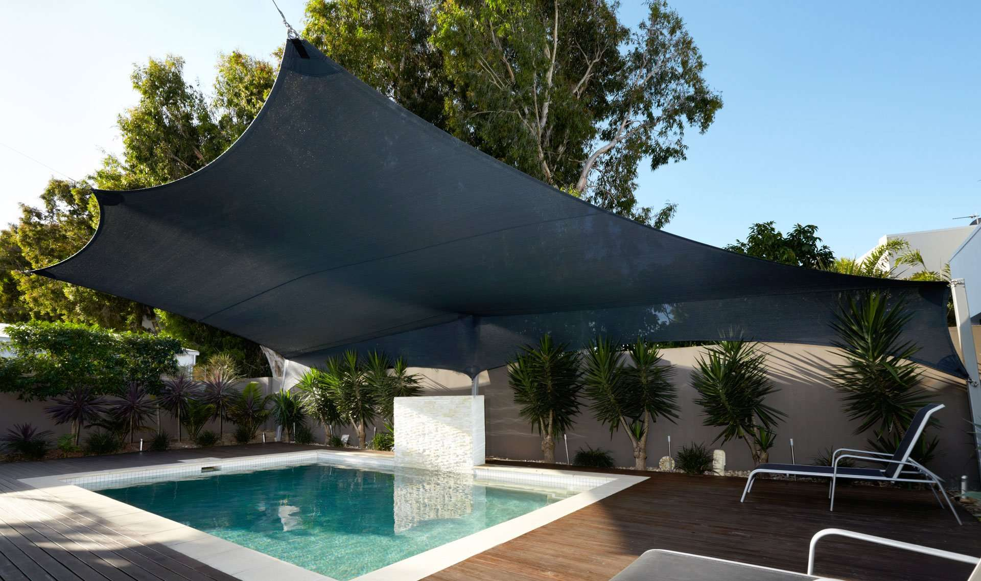 Pool Shade Sails and Solutions - Shade Sails for Swimming Pools