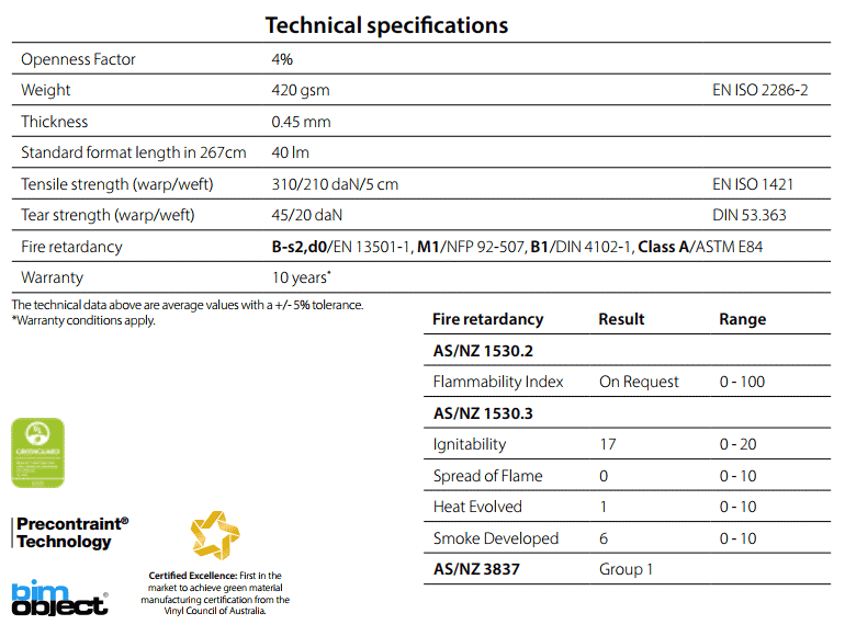 Soltis92 Technical Specifications