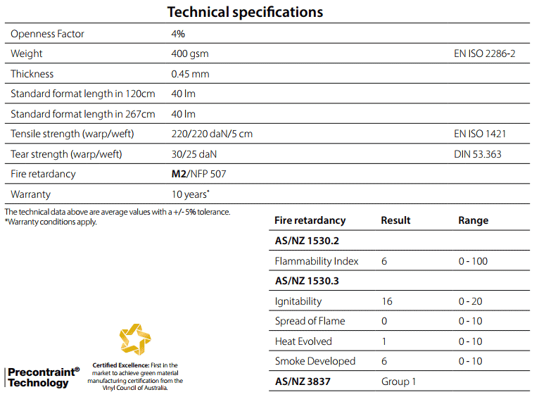 Soltis96 Technical Specifications
